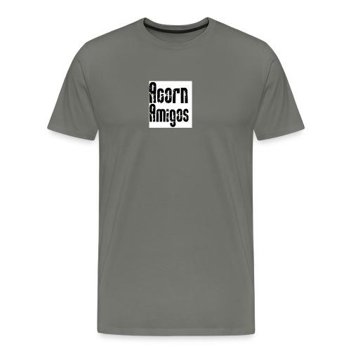 acorn amigos badge - Premium-T-shirt herr