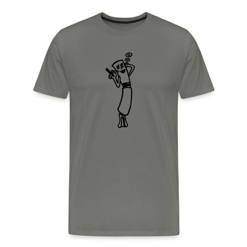 Dampfende E-Zigarette - Männer Premium T-Shirt