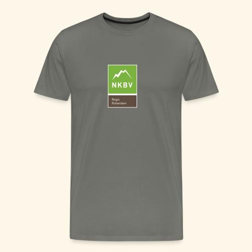 Logo Regio Rotterdam NKBV - Mannen Premium T-shirt