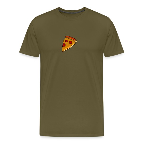 pizza - Herre premium T-shirt