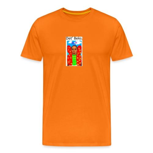 Det' Beks. - Herre premium T-shirt