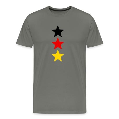 3 Sterne Deutschland #1 - Männer Premium T-Shirt
