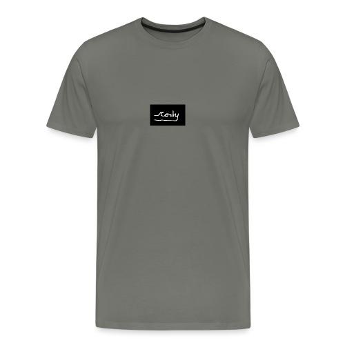 Cody52 Signature T-Shirt|Black - Men's Premium T-Shirt