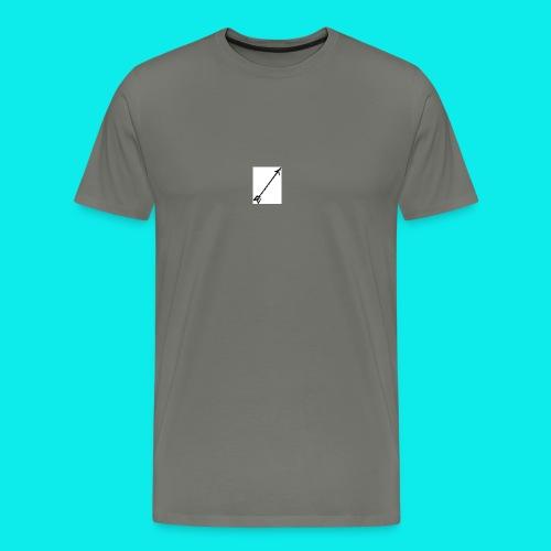 Pfeil - Männer Premium T-Shirt