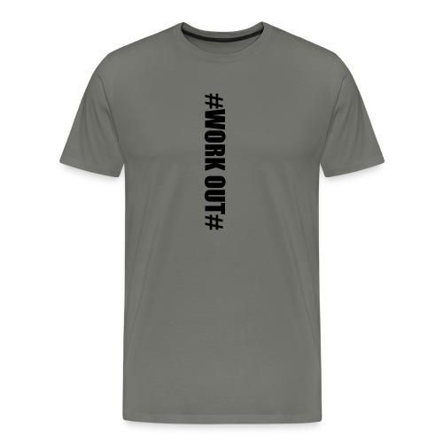 work out - Männer Premium T-Shirt