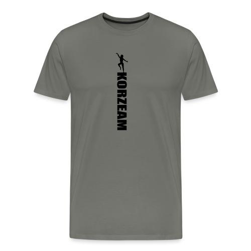 Korzeam unicolore - T-shirt Premium Homme