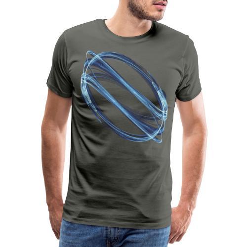 Watermark Chaos Art Watercolor Graphics 6988ice - Men's Premium T-Shirt