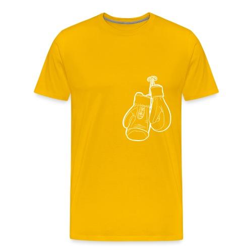 Handschuhe weiß - Männer Premium T-Shirt