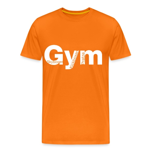 Gym weiß - Männer Premium T-Shirt