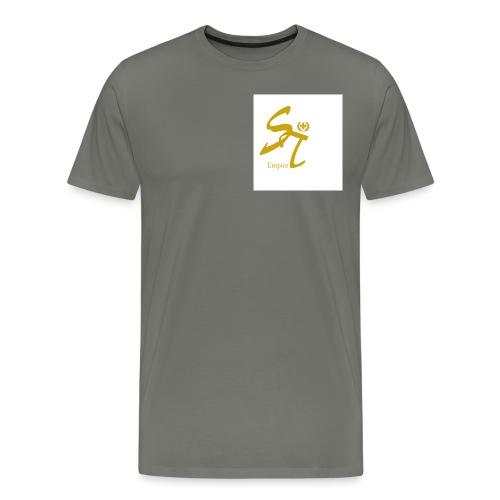 Saint Empire White - Männer Premium T-Shirt