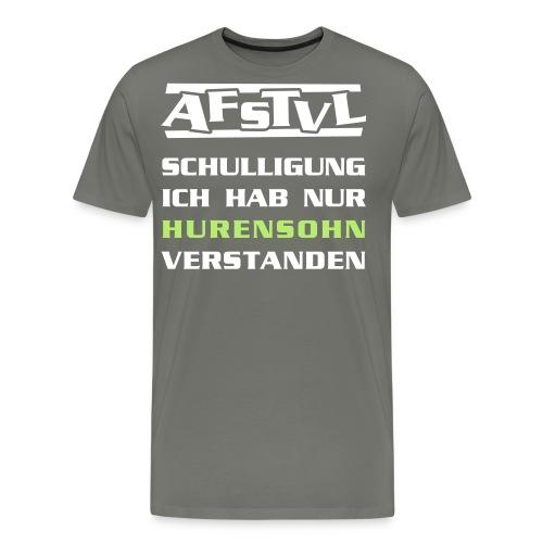 hurensohn_neu - Männer Premium T-Shirt
