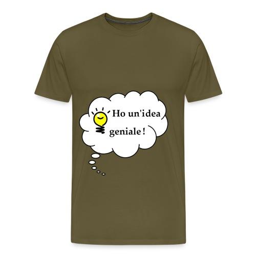 idea - Maglietta Premium da uomo