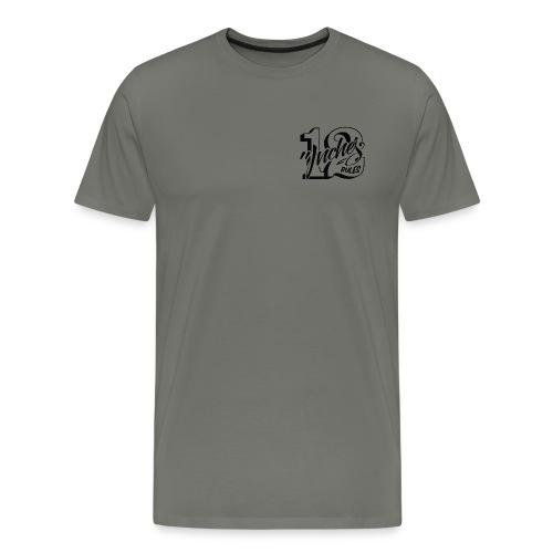 12 Inches Rules - Camiseta premium hombre