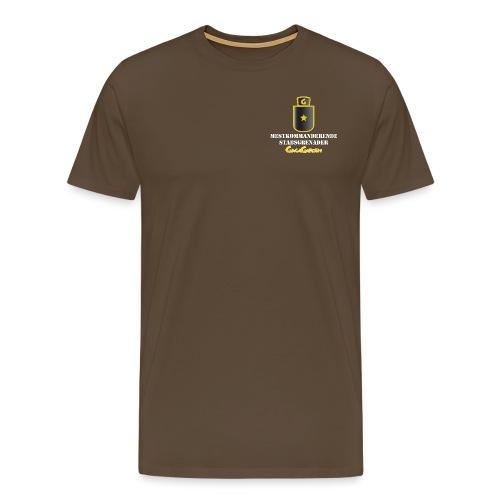 GagaGarden mestkommanderende stabsgrenader - Premium T-skjorte for menn