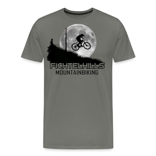 fichtelhills mountainbiking Night ride Ochsenkopf - Männer Premium T-Shirt
