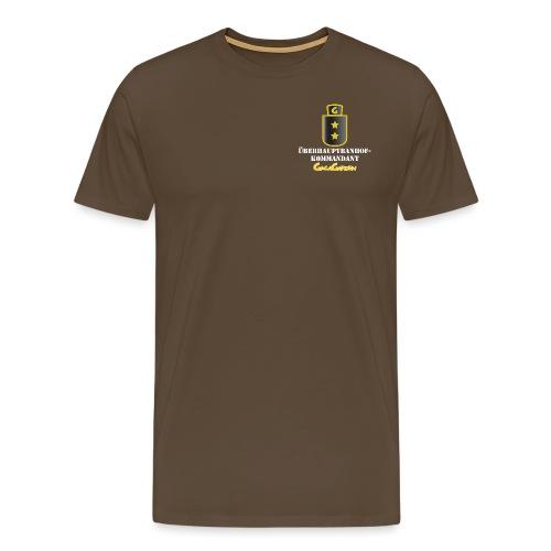 GagaGarden überhaubtbanhofkommandant - Premium T-skjorte for menn