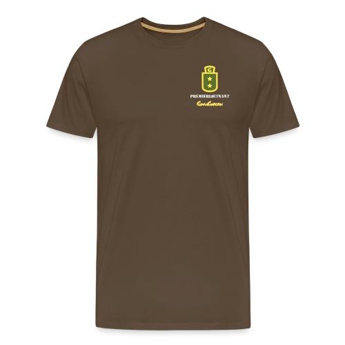 GagaGarden premierløitnant - Premium T-skjorte for menn