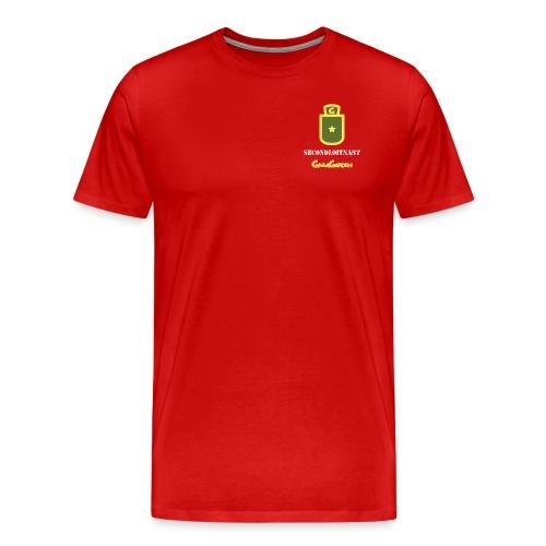 GagaGarden secondløitnant - Premium T-skjorte for menn