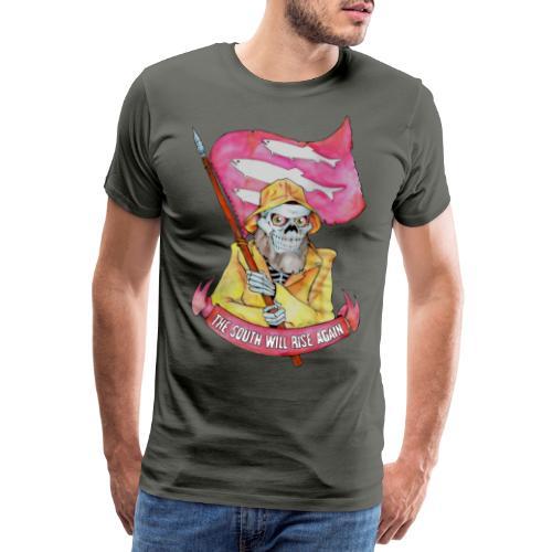 The South Kinn - Premium T-skjorte for menn