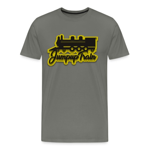 JUMPUPTRAIN - Mannen Premium T-shirt