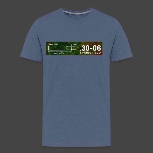 Kalibershirt .30-06 für Jäger und Schützen - Männer Premium T-Shirt