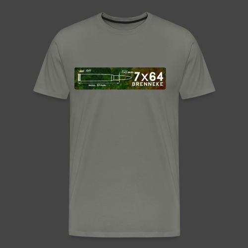Kalibershirt 7x64 Brenneke - Männer Premium T-Shirt