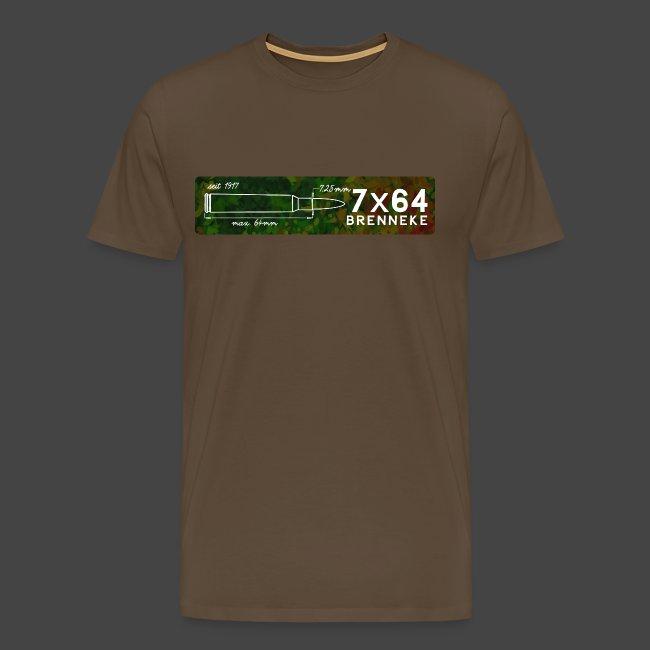 Kalibershirt 7x64 Brenneke