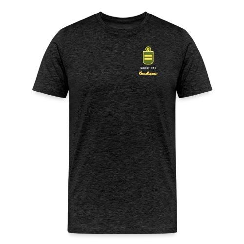 GagaGarden korporal - Premium T-skjorte for menn