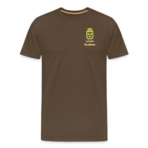 GagaGarden kaptein - Premium T-skjorte for menn
