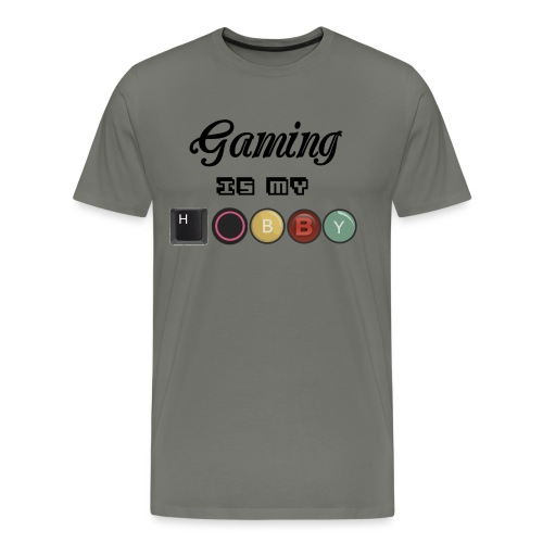 Gaming is my hobby - Camiseta premium hombre