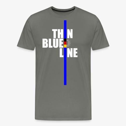 blue_line - Männer Premium T-Shirt