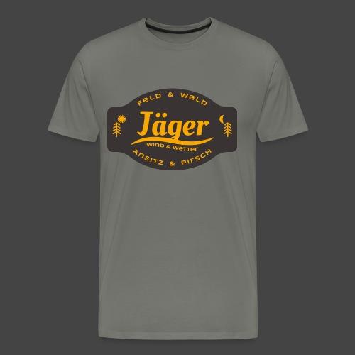Das Jäger-Shirt für aktive Jäger - Männer Premium T-Shirt