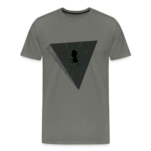 Spinne Neon-grün - Männer Premium T-Shirt