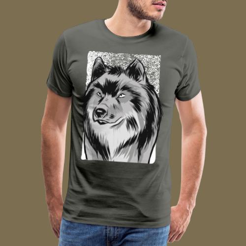 Wolf - Mystisch - Männer Premium T-Shirt
