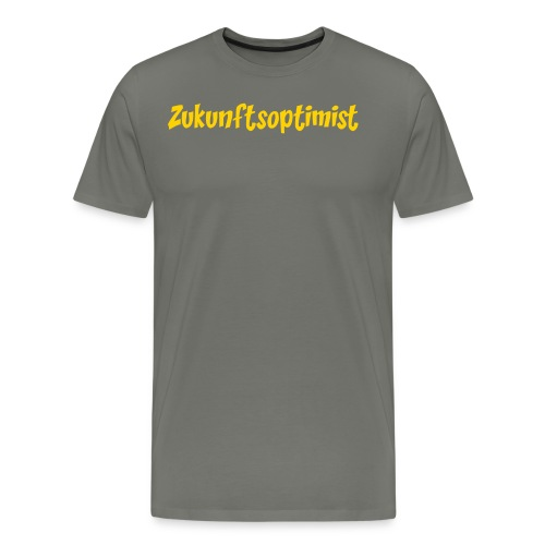 Zukunftsoptimist - Männer Premium T-Shirt