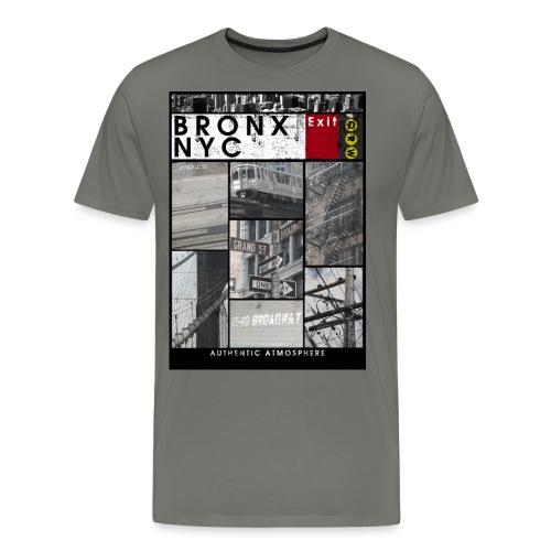 Bronx Nyc - Miesten premium t-paita