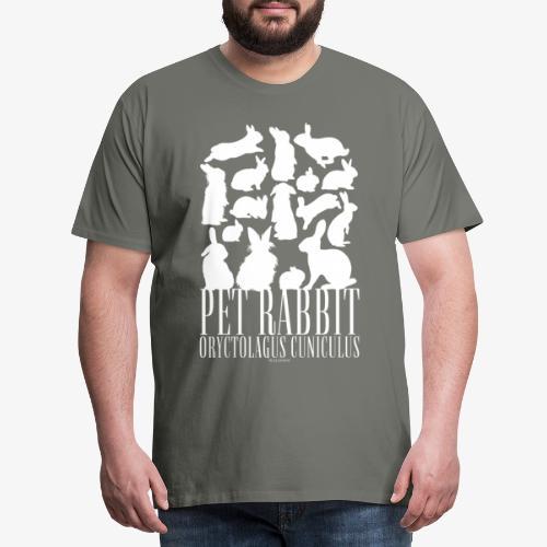 Pet Rabbit - Miesten premium t-paita