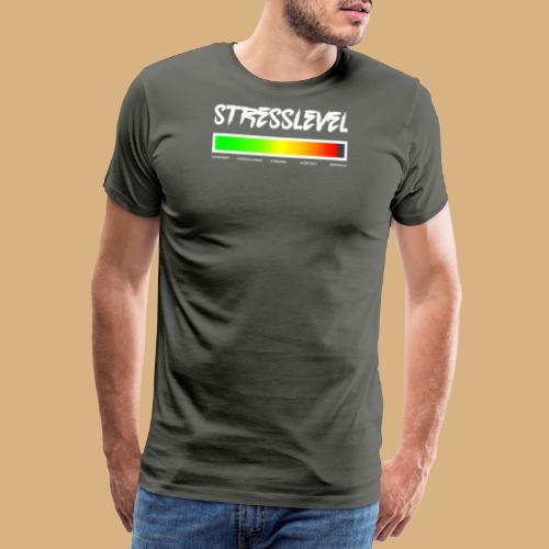 Gestresst? Stresslevel Stress Burnout genervt fun - Männer Premium T-Shirt