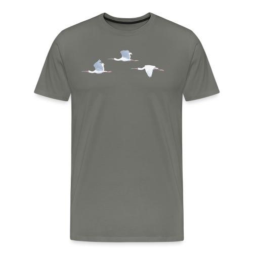 African Spoonbills v2 - Men's Premium T-Shirt