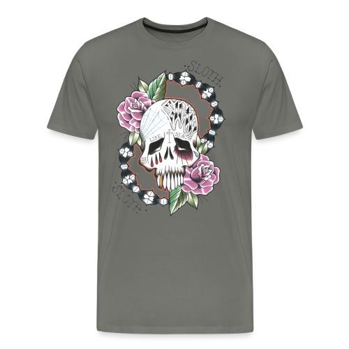 Isa-Sloth - Maglietta Premium da uomo