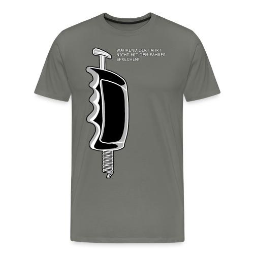 Slotregler mit Spruch 2 - Männer Premium T-Shirt