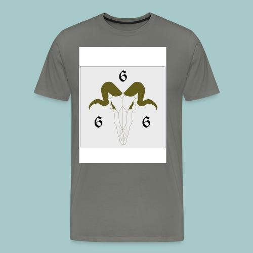 goat666 - Maglietta Premium da uomo