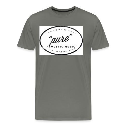 pure logo gross - Männer Premium T-Shirt