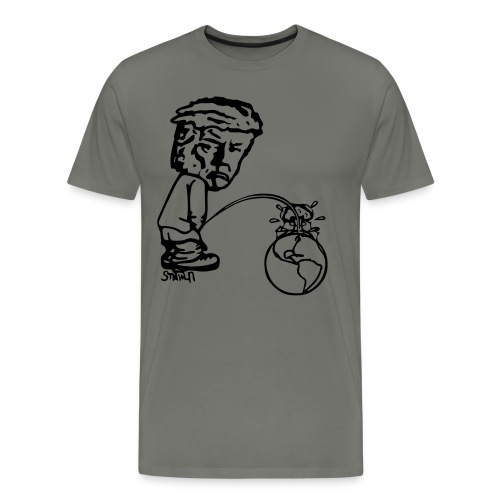 TrumPeeTee - Premium-T-shirt herr