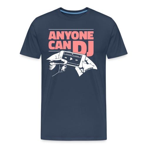 anyonecandj2farver 3 - Herre premium T-shirt