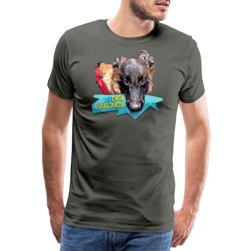 puppy malinois ring - T-shirt Premium Homme