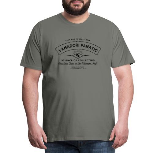 vintage_logo_yamadori_fanatic noir - T-shirt Premium Homme