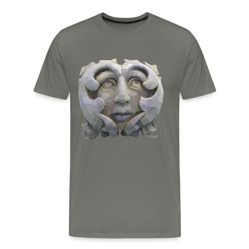 Greenman for Pagans and Druids - Men's Premium T-Shirt