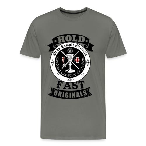 Kreuz Ritter Tempel Ritter - Männer Premium T-Shirt