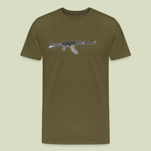 AK - Miesten premium t-paita